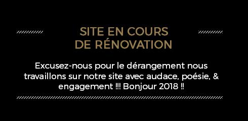 Site en rénovation